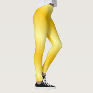 Gold background leggings