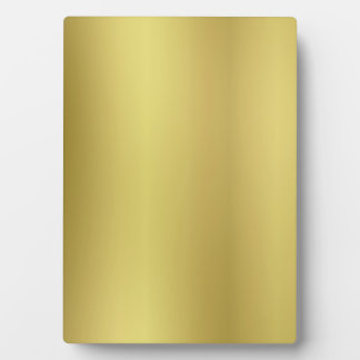 Gold Background Template Plaque