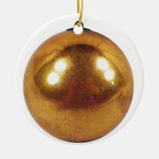 Gold Ball Christmas Ornament