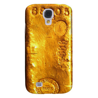Gold Bar Galaxy S4 Case