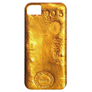 Gold Bar iPhone 5 Cases