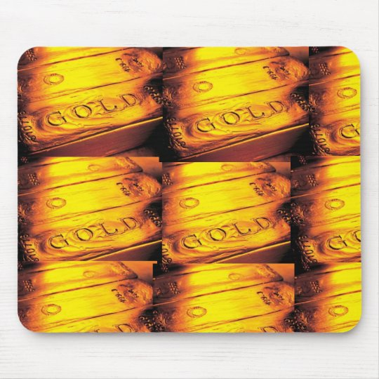 GOLD BAR MOUSE MAT