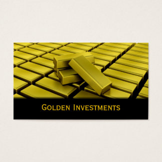 Gold Bars Business Card