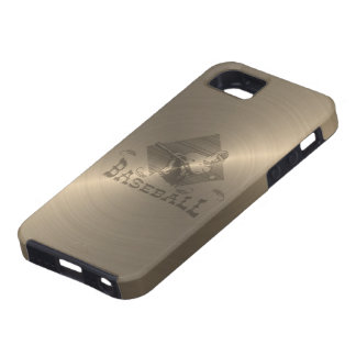Gold Baseball iPhone 5 Cover