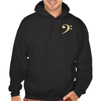"""Gold"" Bass Clef Pullover"