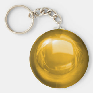 Gold Bauble Keychain