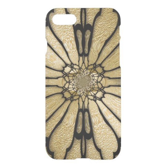Gold Black Butterfly Wings Optical Illusion iPhone 7