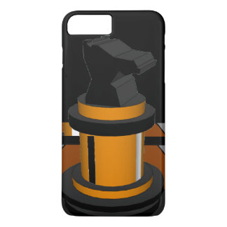 Gold Black CricketDiane Chess Knight Geek Gifts iPhone 7 Plus Case