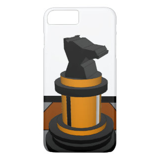 Gold Black CricketDiane Chess Knight Geeky Nerd iPhone 7 Plus Case