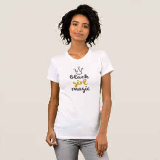 Gold Black Girl Magic Tank