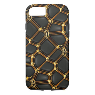 Gold/Black Luxe Style iPhone 7 Case