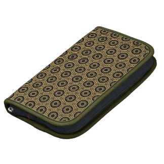 Gold & black pattern Folio Smartphone Folio Planners