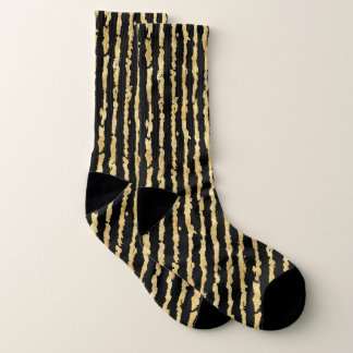 Gold Black Stripes 1