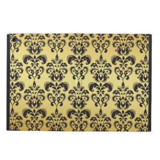 Gold Black Vintage Damask Pattern 2 Powis iPad Air 2 Case