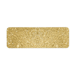 Gold Blank Shimmer Template
