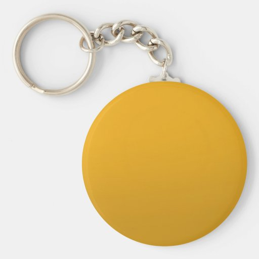 Gold Blank TEMPLATE : Add text, image, fill color Key Chain