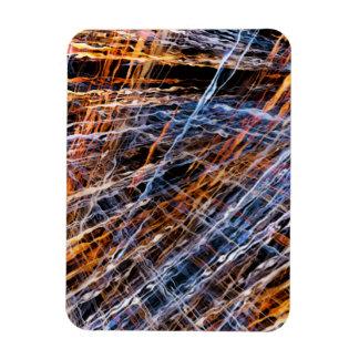 Gold & Blue Disruption Flexible Magnets