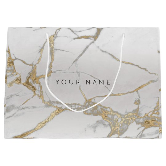 Gold Blush Marble Metallic Gift Gray Silver VIP