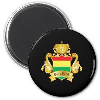 Gold Bolivia Magnet