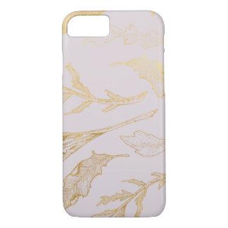Gold Botanical iPhone 8/7 Case