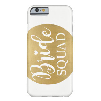 Gold Bride Squad Girls iPhone Case Wedding Gift