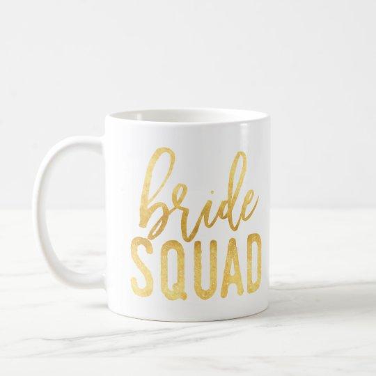 Gold Bride Squad Mug