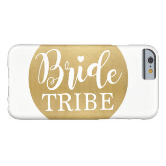 Gold Bride Tribe iPhone Case Wedding Gift
