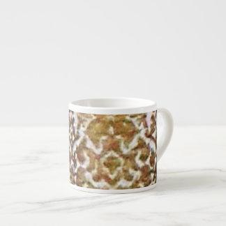 Gold Brocade Espresso Mug