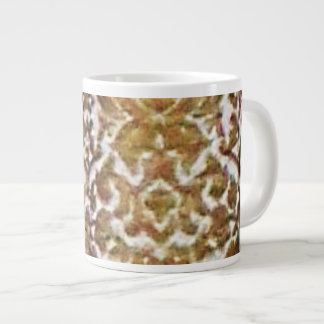 Gold Brocade Jumbo Mug