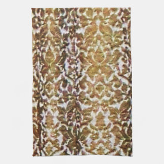Gold Brocade Kitchen Towel