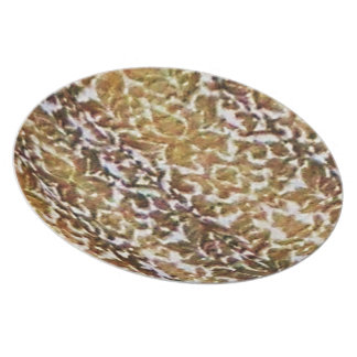Gold Brocade Party Plates