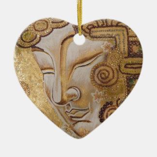 Gold Buddha Christmas Ornament