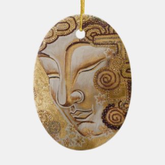 Gold Buddha Christmas Ornament
