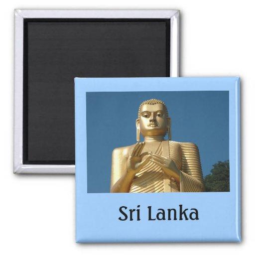 Gold Buddha Image Magnets