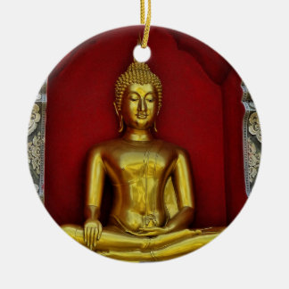 Gold Buddha Ornament