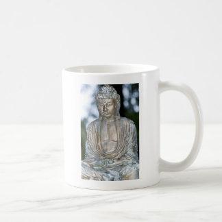Gold Buddha Statue Basic White Mug