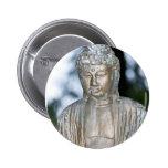Gold Buddha Statue Button