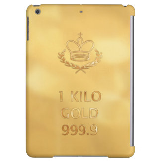 Gold Bullion Bar Print