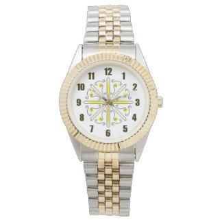 Gold Bumblebee Watch