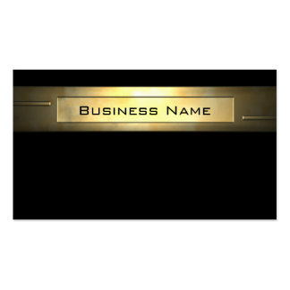 Gold Business 2 Pack Of Standard Business Cards