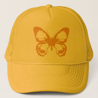 Gold Butterfly Trucker Hat
