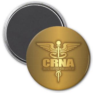 Gold Caduceus (CRNA) Magnet