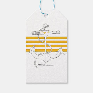 gold captain, tony fernandes gift tags