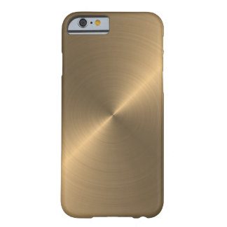 Gold Barely There iPhone 6 Case