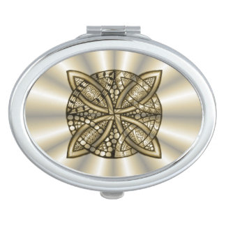 Gold Celtic Knot Original Art Design Vanity Mirrors