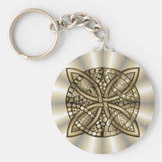 Gold Celtic Knot Original Artistic Design Key Chain