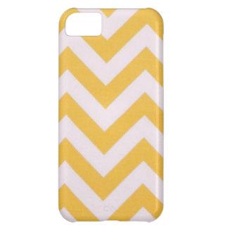 Gold Chevron Design iPhone 5C Case