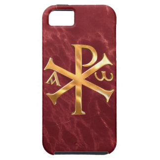 Gold Chi-Rho iPhone 5 Covers