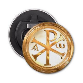 Gold Chi-Rho Symbol