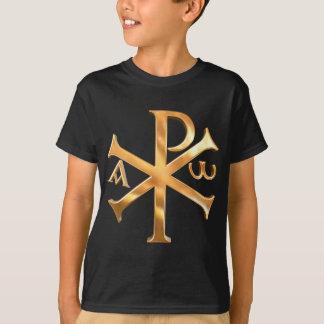 Gold Chi-Rho T-Shirt